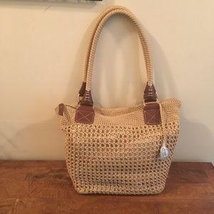 NEVER CARRIED The Sak Crocheted Bag